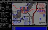 Fire-Brigade: The Battle for Kiev - 1943 Atari ST Night time