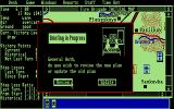 Fire-Brigade: The Battle for Kiev - 1943 Atari ST Briefing in process