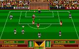 Gazza's Super Soccer Atari ST This is a dangerous situation
