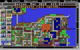 SimCity Atari ST A fire is raging in the city