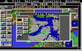 SimCity Atari ST City map