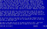 Blackjack DOS Game instructions continued
