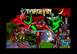 Targhan Amstrad CPC Title screen