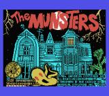 The Munsters MSX Title screen