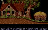 Fire and Brimstone Atari ST Thor leaves his house