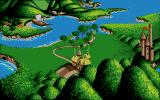 Ivanhoe Atari ST Progress map