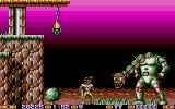"Jim Power in ""Mutant Planet"" Atari ST A mid level boss"