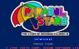 Parasol Stars: The Story of Bubble Bobble III Atari ST Title screen