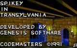 Spike in Transilvania Atari ST Title screen