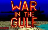 War in the Gulf Atari ST Title screen