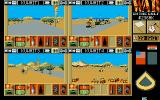 War in the Gulf Atari ST The view from all four groups