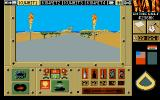 War in the Gulf Atari ST The view from you tank