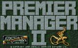 Premier Manager 2 Atari ST Title screen