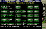 Premier Manager 2 Atari ST Arrange friendly matches