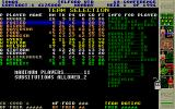 Premier Manager 2 Atari ST In half time you can make changes to the team