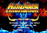 Mazin Saga: Mutant Fighter Genesis Title screen