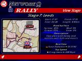 Network Q RAC Rally Championship DOS Stage view