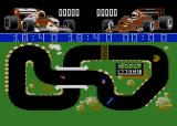 Grand Prix Simulator Atari 8-bit Collect the flashing wrench for a bonus!