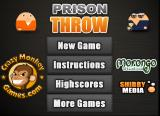 Prison Throw Browser Title screen