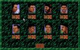 Sabre Team Atari ST Selecting men for your team
