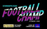 European Football Champ Atari ST Title screen