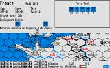 Third Reich Atari ST France have lots of forces to deploy