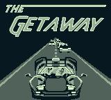 The Getaway: High Speed II Game Boy Title screen