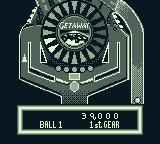 The Getaway: High Speed II Game Boy Ready to launch. You can see the lower part of the play field.