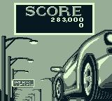 The Getaway: High Speed II Game Boy Your score after losing a ball.