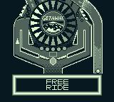 "The Getaway: High Speed II Game Boy If you lose your ball right after you launch, you can shoot again, called a ""Free ride""."
