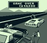 The Getaway: High Speed II Game Boy I lost the last ball. Game over.