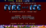 Fire & Ice Atari ST Second title screen