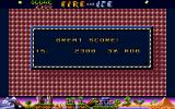 Fire & Ice Atari ST Got a high score