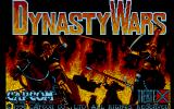 Dynasty Wars Atari ST Title screen