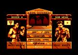 Panza Kick Boxing Amstrad CPC Main menu