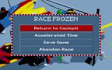 World Circuit Atari ST Race paused.
