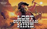 Lost Dutchman Mine Atari ST Title screen