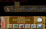 Lost Dutchman Mine Atari ST Ops, time to return to the town and sell some ore