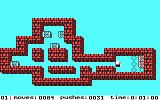 Soko-Ban DOS The first level (Tandy/PCjr)