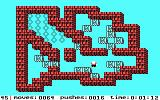 Soko-Ban DOS Made a few mistakes on a more difficult level (Tandy/PCjr)