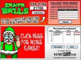 Santa Balls Browser Post my score, play again, quit or look at other games?