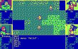 Scavengers of the Mutant World DOS Starting the game