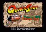 QuackShot starring Donald Duck Genesis title screen