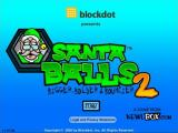 Santa Balls 2: Bigger, Bolder & Bouncier Browser Title screen