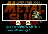 Metal Slug Rampage! Browser Instructions