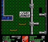 Wolverine NES Cleared level 1.