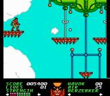 Wolverine NES Starting level 2.