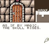 Shadowgate Classic Game Boy Color You opened the skull to find a key.