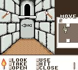 Shadowgate Classic Game Boy Color I found an arrow.