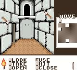 Shadowgate Classic Game Boy Color I pulled a torch and found a secret door.